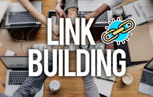 "Chain with the words ""link building"" shows that cheap SEO is a waste of time."